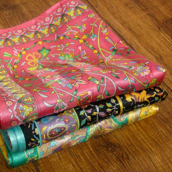 シルク綿スカーフ